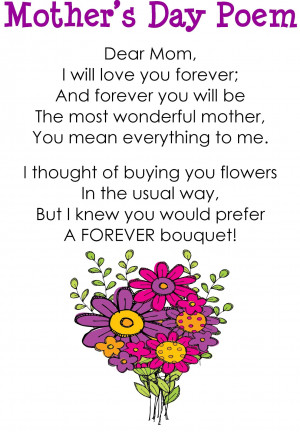 Mother's Day Poem
