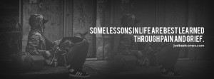 ... to view some lessons in life are best learned Facebook Cover Photo