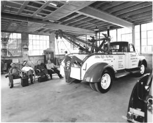 1950 Dodge Holmes 515 Demonstrator, at the Ernest Holmes Factory