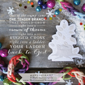 Unwrapping the Greatest Gift - Ann Voskamp - incourage.me