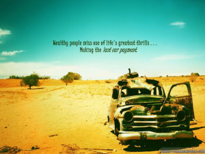 ... Quotes About Summer » Summer Quote And The Picture Of The Old Car On