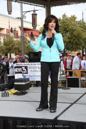 Marie Osmond co-hosts the '10th Annual Kendall Tenney's Run For A Wish ...