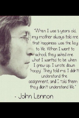 John Lennon #Quotes #meaningful quotes #quote