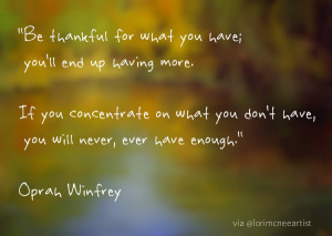 Here are a few of my favorite quotes for this Thanksgiving…