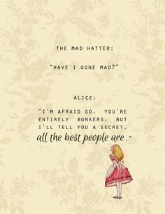 ALICE IN WONDERLAND & The Mad Hatter