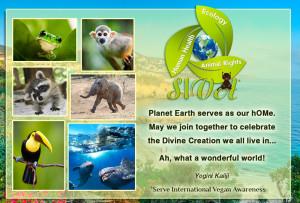 Yogini Kaliji — message Earth Day 2014