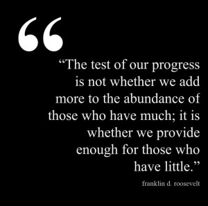 Amazing quote from FDR @Pinstamatic