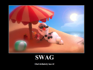Apperantly my profile has lots of swag .3. /\ \/