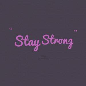 stay strong quotes from michaela svor íková published at 05 january ...