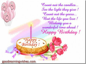 Happy Birthday Wishes To My Granddaughter Birthday Wishes Quotes For