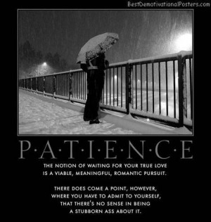 Patience waiting for love quotes