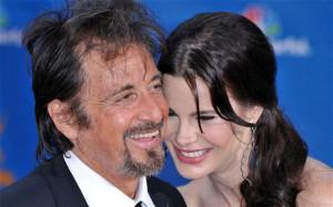 Actor Al Pacino, 73, with girlfriend Lucila Sola, 33