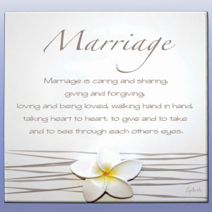 Marriage Poem Splosh - Gorgeous Gifts