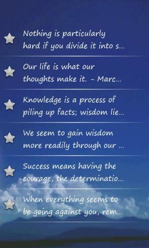 Inspiring Quotes - screenshot
