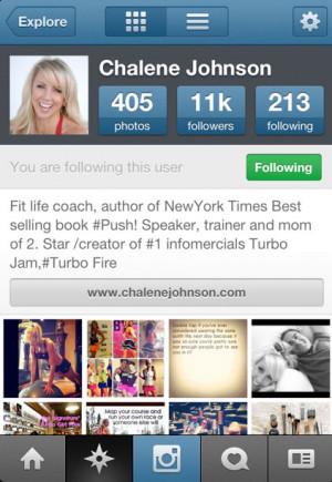 ChaleneJohnson_Instagram_Profile