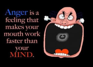 Anger Makes Your Mouth Work Faster