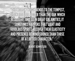 Quote Albert Schweitzer The...