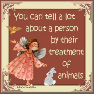 Treatment Of Animals