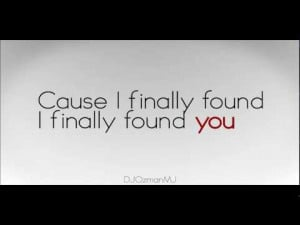 Enrique Iglesias - Finally Found You feat. Sammy Adams Lyric Video ...