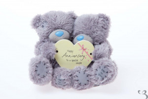 Me to You - 4'' Happy Anniversary Bears with Heart