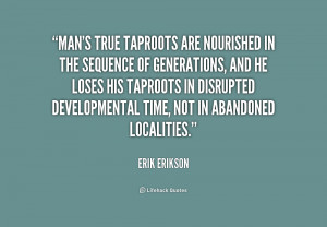 Development Erik Erikson Quotes