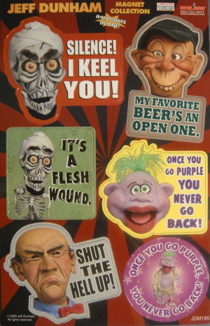 jeff dunham magnet collection