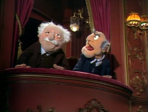 Muppets Waldorf And Statler Quotes Tagged: muppets, the muppet