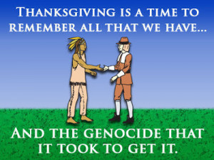 THANKSGIVING~~ AND PRAYERS FOR NATIVE AMERICANS