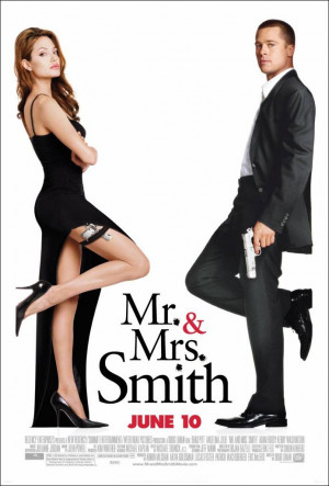 ... starring Brad Pitt and Angelina Jolie, directed by Doug Liman