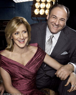 Edie Falco paid tribute to her 'kind and generous' on-screen Sopranos ...