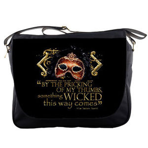 Shakespeare-Wicked-Witches-Macbeth-Quote-Black-Messenger-Bag