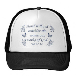 Inspirational Christian quotes Hat