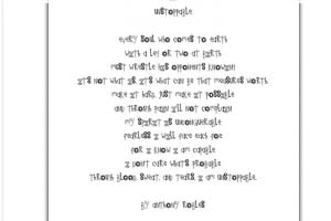 Unstoppable by Anthony Robles. Beautiful inspiring poem. It speaks to ...