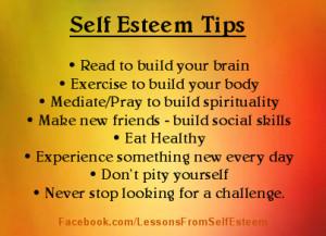 to build self esteem quotes