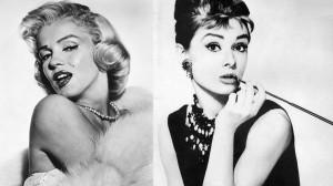 Audrey Hepburn Marilyn Monroe