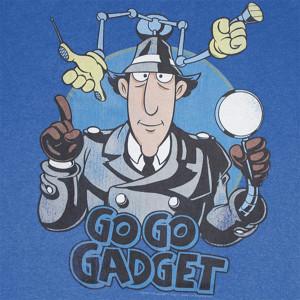 shirt L' ISPETTORE GADGET Go Go Gadget