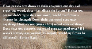 Favorite Esther Earl Quotes