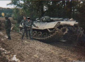 Bad Driving in an M1A1