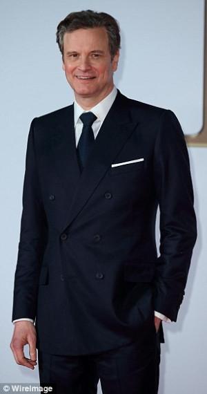 ... gentleman as he rocked a bespoke Green Carpet Challenge Kingsman suit