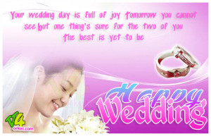 Wedding wishes quotess are important to for a couple right from the ...
