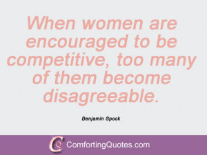 Quotes And Sayings By Benjamin Spock