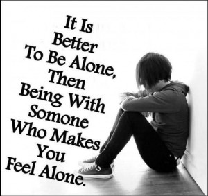 quotes about being alone forever 96