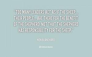 Ken Blanchard Quotes