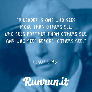 leadersip quotes - leroy eims