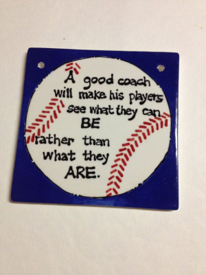 Coach Gift- A Sports Tile- Baseball/ Soccer/ Football/ Volleyball ...