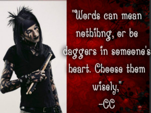 Choose Life ★ BVB quotes ☆