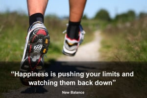 Happiness is pushing your limits and watching them back down. ( New ...