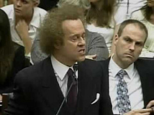 Richard Simmons on Capitol Hill..he maybe a little loud & over ...