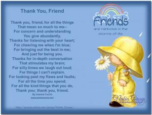 Thank You, Friend