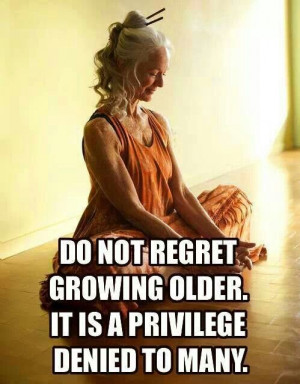 Growing older with grace and health